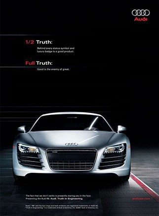 Audi Coupe Automotive branding campaign on social media in Thailand