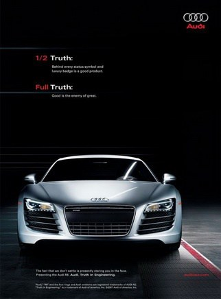 Audi Automotive Digital Marketing Advert Campaign in Thailand and Singapore