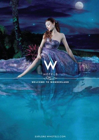 w hotels luxury property advertising campaign in bangkok and phuket thailand