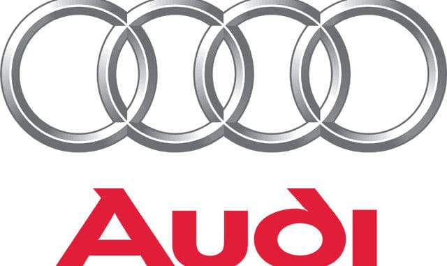 Audi-logo-Bangkok Thailand - Blue orange asia