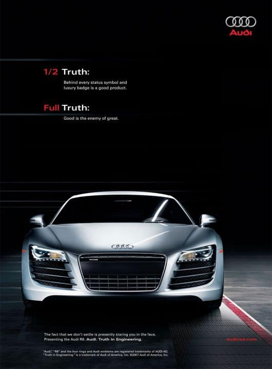 Audi Coupe New Car Launch TV and Print Media advertising campaign in Bangkok Thailand